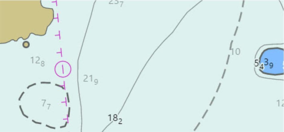 Western Etolin Strait as depicted in ENC US2AK95M